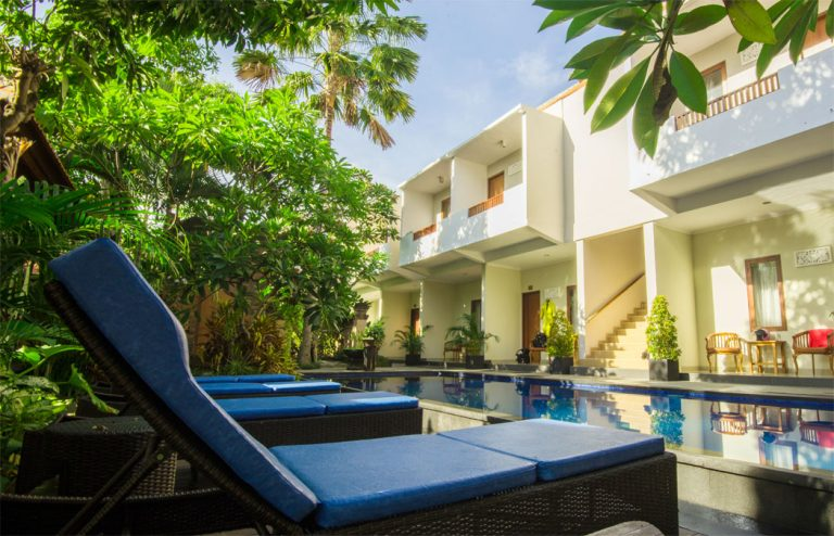 swimming pool nesa sanur hotel